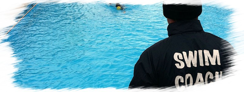 coach natation piscine