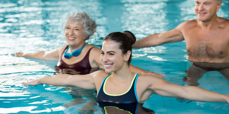 Aqua Fitness aquagym seance exercices video