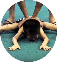 Children sports training