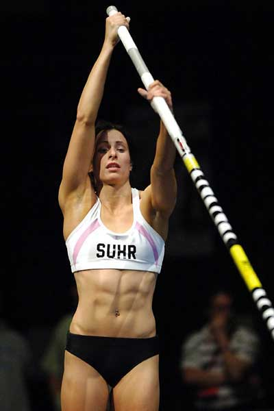 Pole vault  training