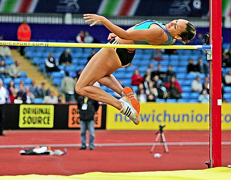 High jump training